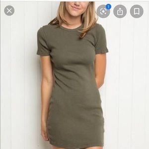 Brandy Melville Green Dress